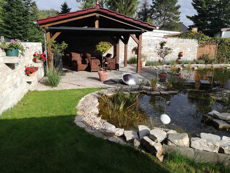 Johann Schindler Garten und Landschaftbau Gartenbau Gartenbau Teich und Naturgarten