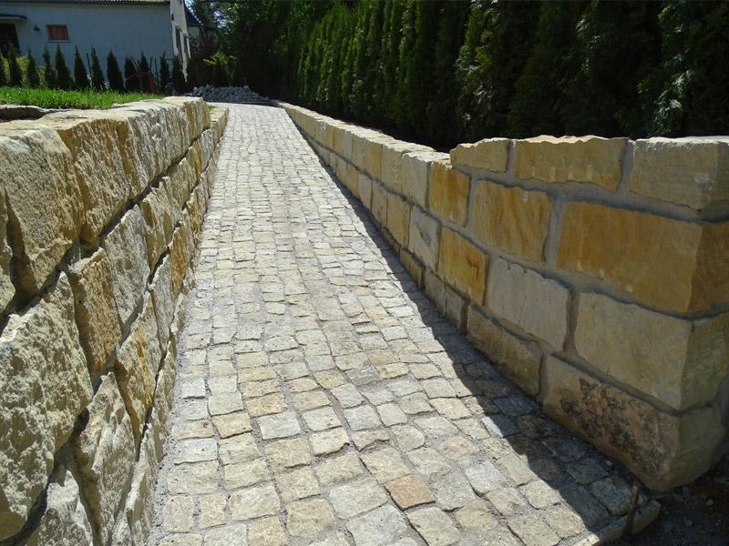 Johann Schindler Garten und Landschaftbau Planung Gestaltung Steinmauer